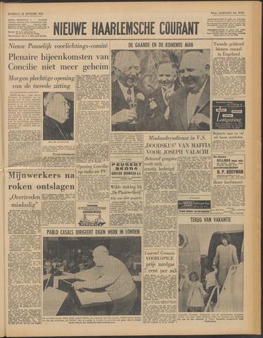 Nieuwe Haarlemsche Courant 1963-09-28