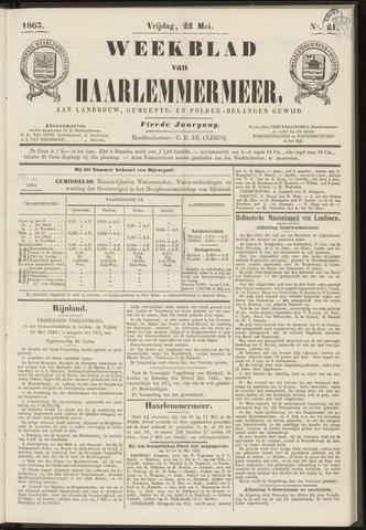 Weekblad van Haarlemmermeer 1863-05-22