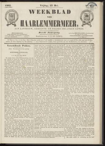 Weekblad van Haarlemmermeer 1862-05-23