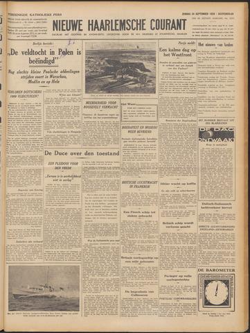 Nieuwe Haarlemsche Courant 1939-09-24