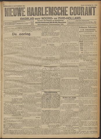 Nieuwe Haarlemsche Courant 1914-09-03