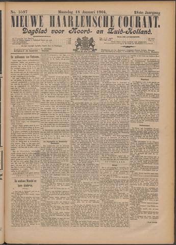 Nieuwe Haarlemsche Courant 1904-01-18