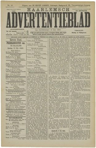 Haarlemsch Advertentieblad 1900-05-19