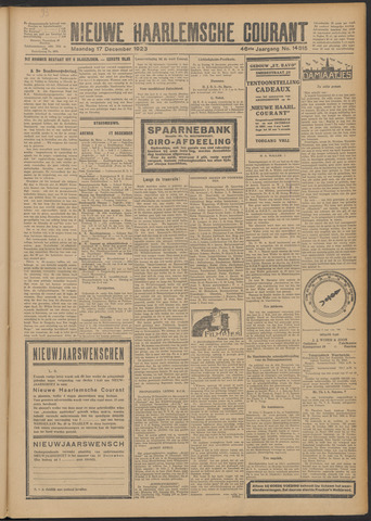 Nieuwe Haarlemsche Courant 1923-12-17