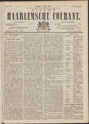 Nieuwe Haarlemsche Courant 1877-04-15