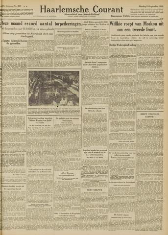 Haarlemsche Courant 1942-09-29