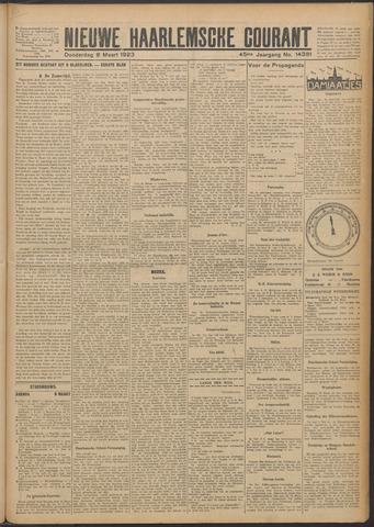 Nieuwe Haarlemsche Courant 1923-03-08