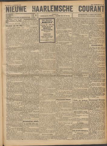Nieuwe Haarlemsche Courant 1921-02-12