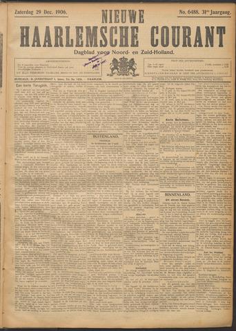 Nieuwe Haarlemsche Courant 1906-12-29