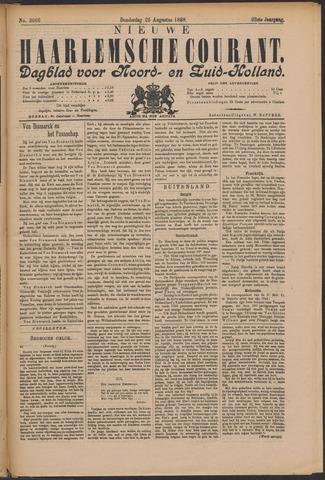 Nieuwe Haarlemsche Courant 1898-08-25