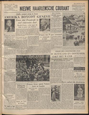 Nieuwe Haarlemsche Courant 1954-07-12