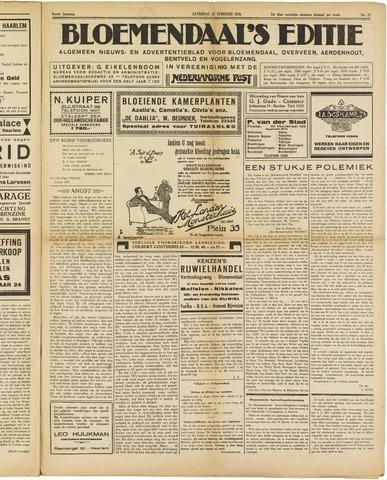 Bloemendaal's Editie 1926-02-27