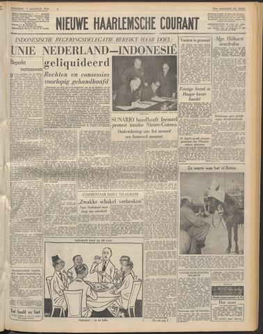 Nieuwe Haarlemsche Courant 1954-08-11