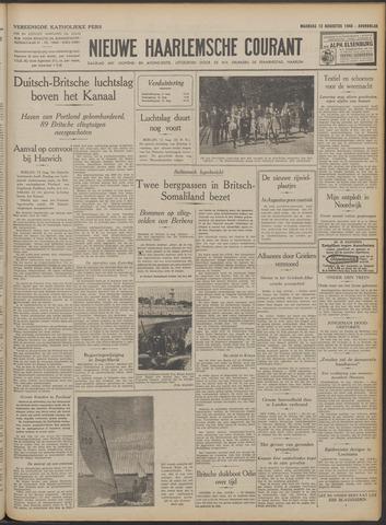 Nieuwe Haarlemsche Courant 1940-08-12
