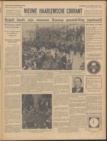 Nieuwe Haarlemsche Courant 1934-02-24
