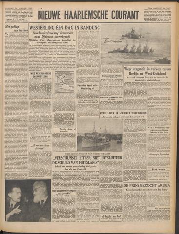 Nieuwe Haarlemsche Courant 1950-01-24