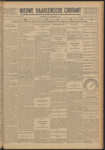 Nieuwe Haarlemsche Courant 1931-12-22