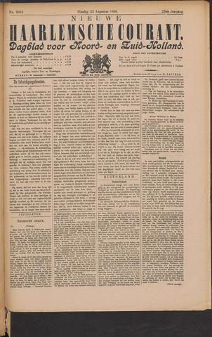 Nieuwe Haarlemsche Courant 1898-08-23