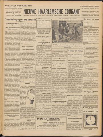 Nieuwe Haarlemsche Courant 1932-11-30
