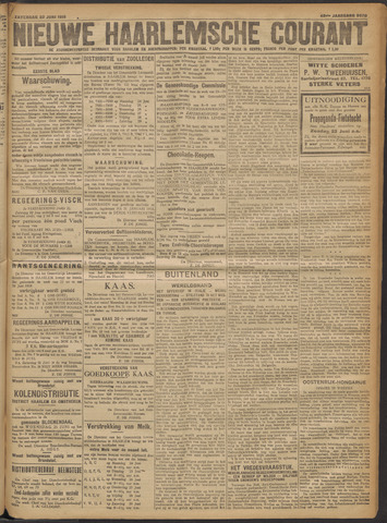 Nieuwe Haarlemsche Courant 1918-06-22
