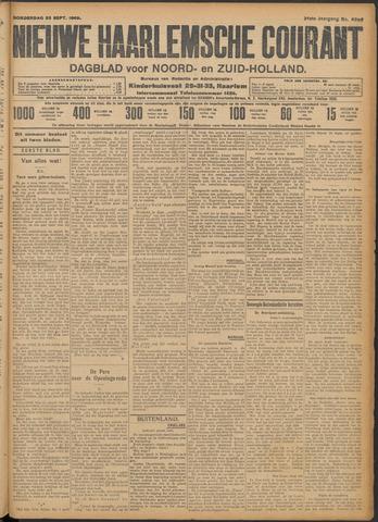 Nieuwe Haarlemsche Courant 1909-09-23