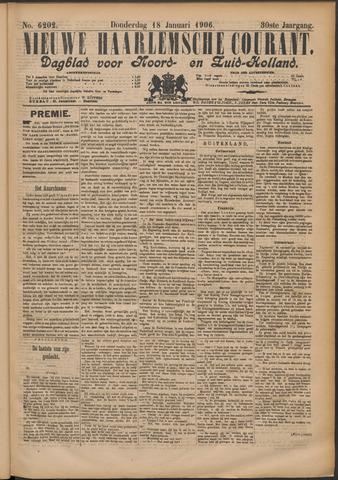 Nieuwe Haarlemsche Courant 1906-01-18