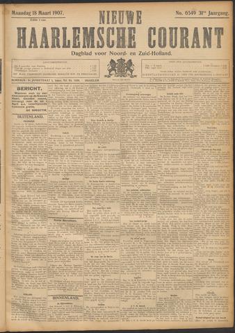 Nieuwe Haarlemsche Courant 1907-03-18