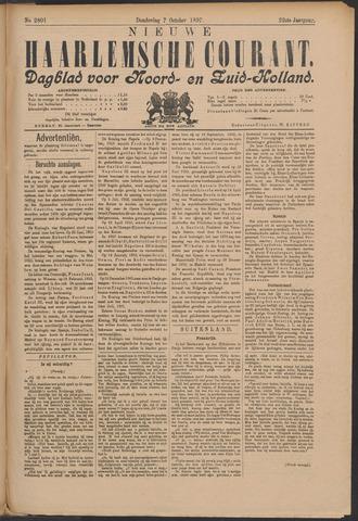 Nieuwe Haarlemsche Courant 1897-10-07