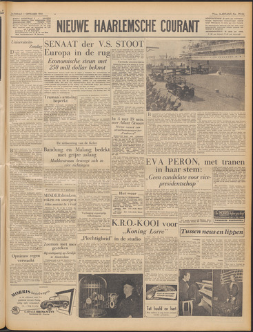 Nieuwe Haarlemsche Courant 1951-09-01