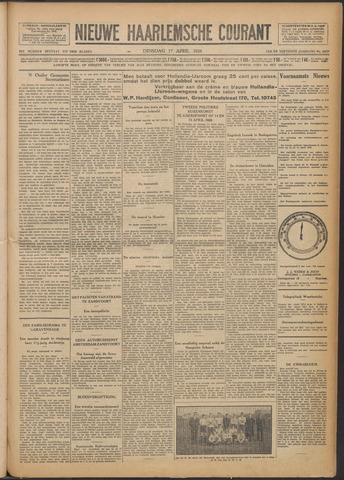 Nieuwe Haarlemsche Courant 1928-04-17