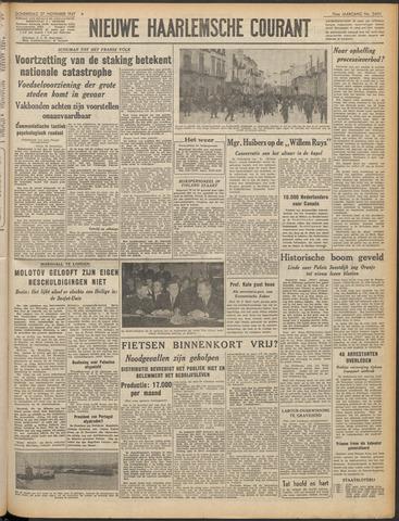 Nieuwe Haarlemsche Courant 1947-11-27