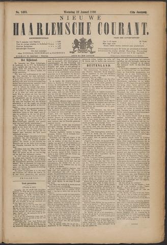 Nieuwe Haarlemsche Courant 1890-01-22