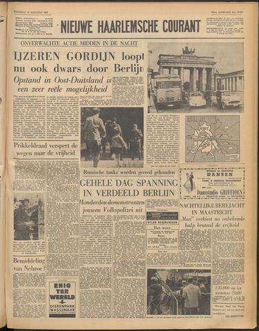 Nieuwe Haarlemsche Courant 1961-08-14