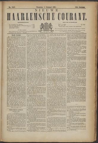 Nieuwe Haarlemsche Courant 1891-02-11