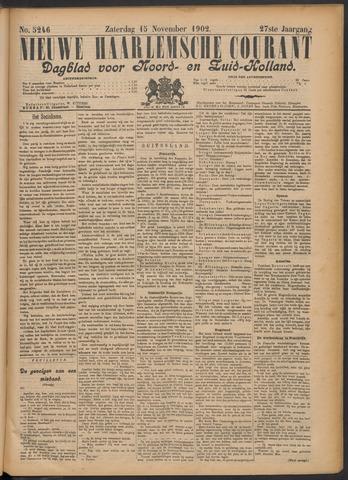 Nieuwe Haarlemsche Courant 1902-11-15