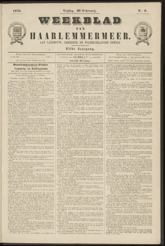 Weekblad van Haarlemmermeer 1870-02-25