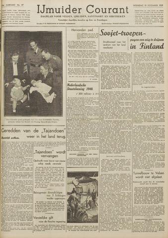 IJmuider Courant 1939-12-13