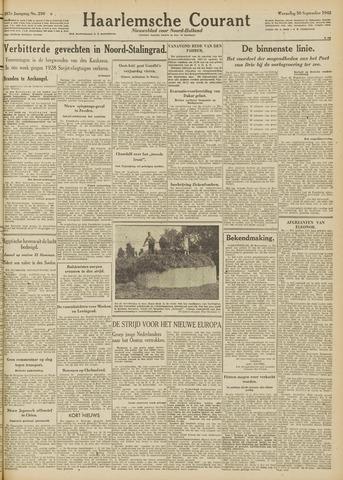 Haarlemsche Courant 1942-09-30