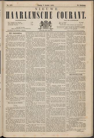 Nieuwe Haarlemsche Courant 1881-10-02