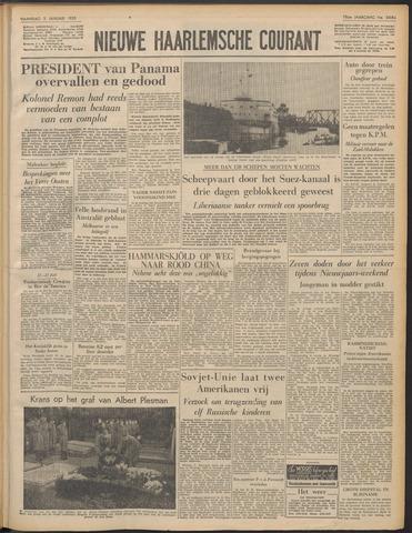 Nieuwe Haarlemsche Courant 1955