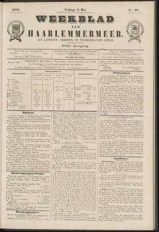 Weekblad van Haarlemmermeer 1870-05-06