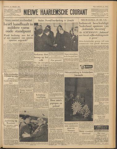 Nieuwe Haarlemsche Courant 1957-02-25