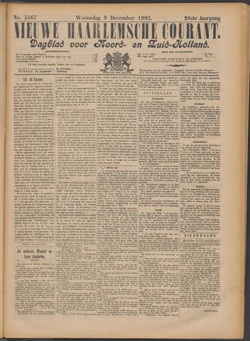 Nieuwe Haarlemsche Courant 1903-12-09