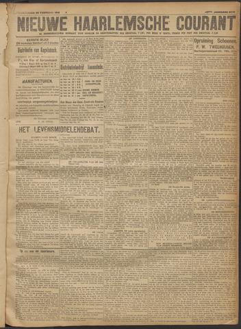 Nieuwe Haarlemsche Courant 1918-02-28