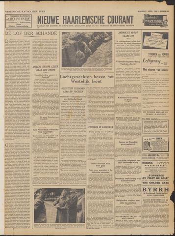 Nieuwe Haarlemsche Courant 1940-04-01