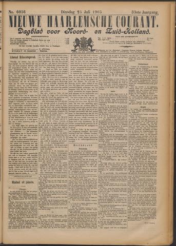 Nieuwe Haarlemsche Courant 1905-07-25