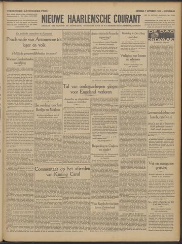 Nieuwe Haarlemsche Courant 1940-09-07