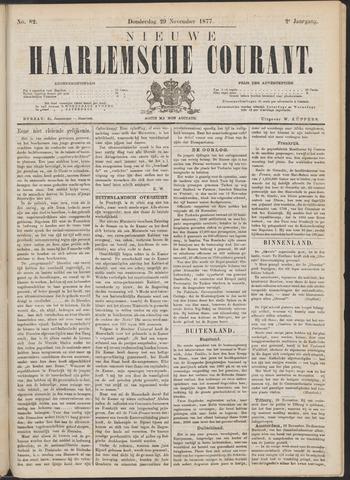 Nieuwe Haarlemsche Courant 1877-11-29