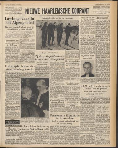 Nieuwe Haarlemsche Courant 1955-02-23