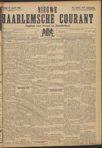 Nieuwe Haarlemsche Courant 1907-04-16